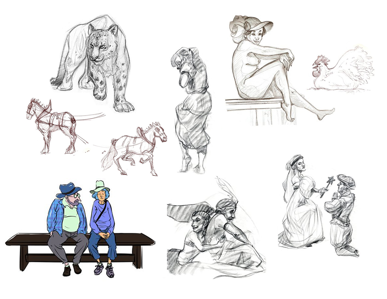 ... CHARACTERS BACKGROUNDS / SETS / PROPS LIFE DRAWING MORE CONTACT