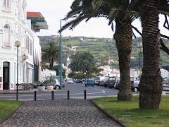 Praça do Infante com a Torre do Relógio ao fundo