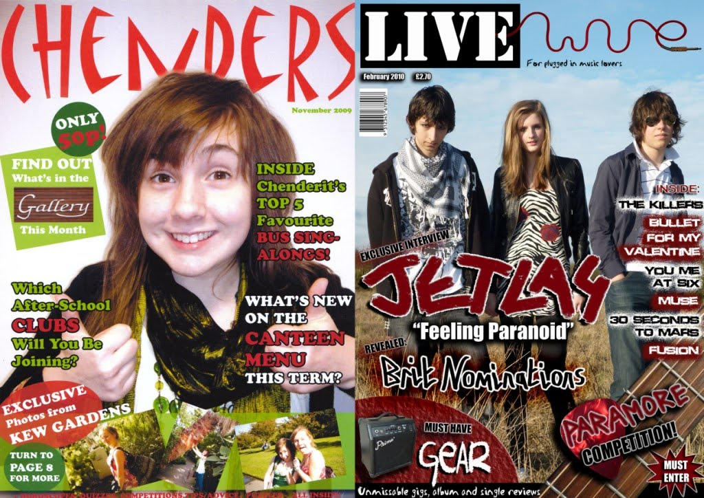 a level media coursework magazine A level media coursework thursday, 1 may my magazine is meant to represent rebelious rock artists/people and i've shown this by dressing my front cover model.