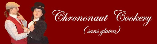 Chrononaut Cookery (sans gluten)