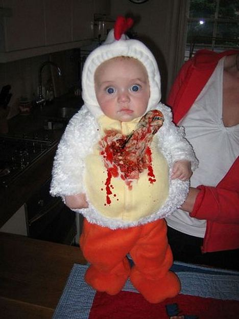 Baby ...  sc 1 st  Babble & Ridiculous Baby Halloween Costumes