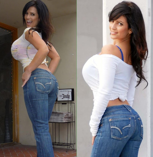 Big Boobs Tight Jeans sexy girls