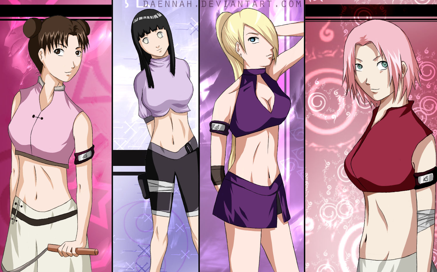 sexy naruto girls naked