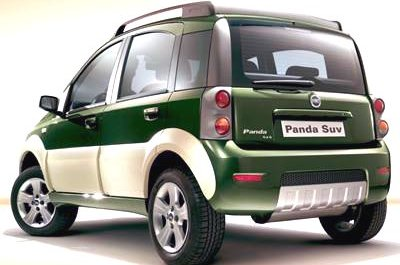 car zone fiat panda cross is based on the ready made version of the panda 4x4. Black Bedroom Furniture Sets. Home Design Ideas
