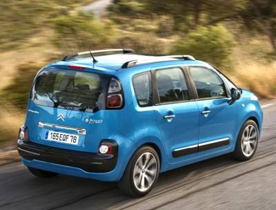 citroen c3 2011. Citroen C3 Picasso at the