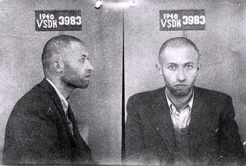 Early Mug Shot Of Israeli Prime Minister - Menachim Begin