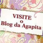 Visitem o blog da agapita!