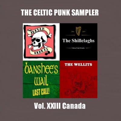 Celtic Punk sampler Volume 23 - Canada