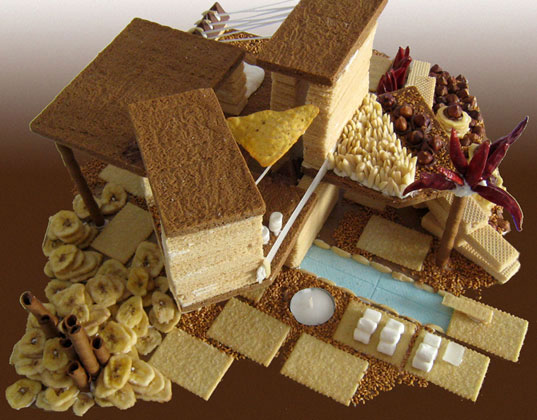 Architecture And Design Cake : JPRchitect + Design: Modern Gingerbread House
