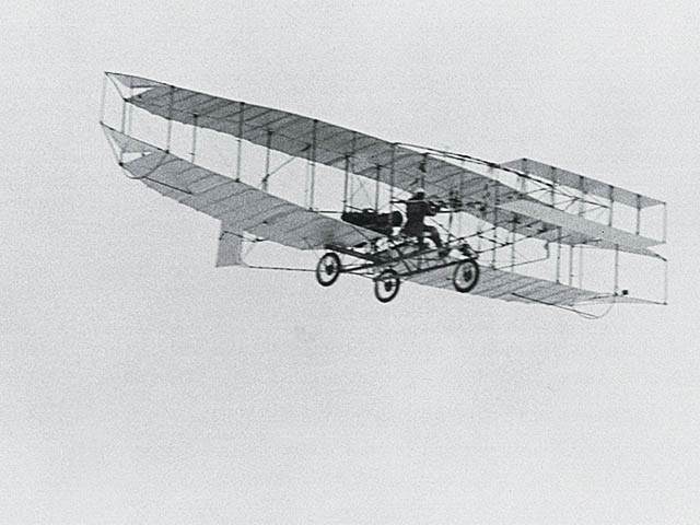 Treated wright brothers the fist plane