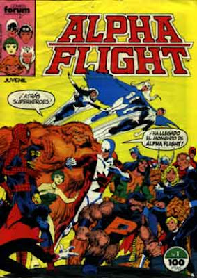 Alfa Fligth Comics