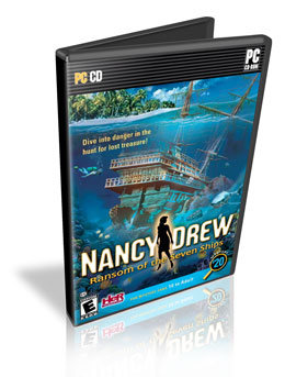 Download PC Nancy Drew  Shadow at the Water's Edge ISO 2010 Completo