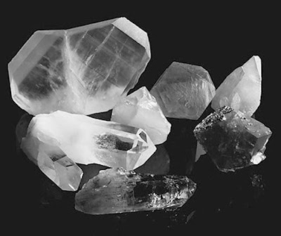 Crystals like these are claimed by many to have mysterious healing powers.