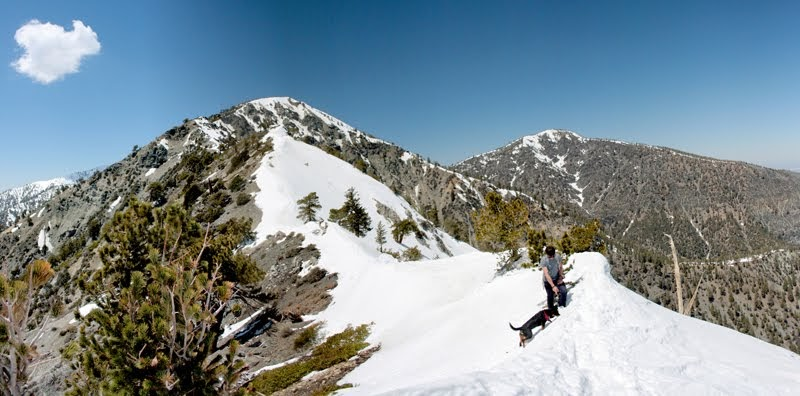 Small House With Elevation : A day in the life of mt baldy hike