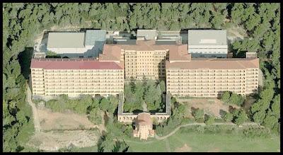 Shania\'s world: Hospital del Tórax. Terrasa.