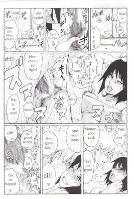 Hentai Naruto Manga