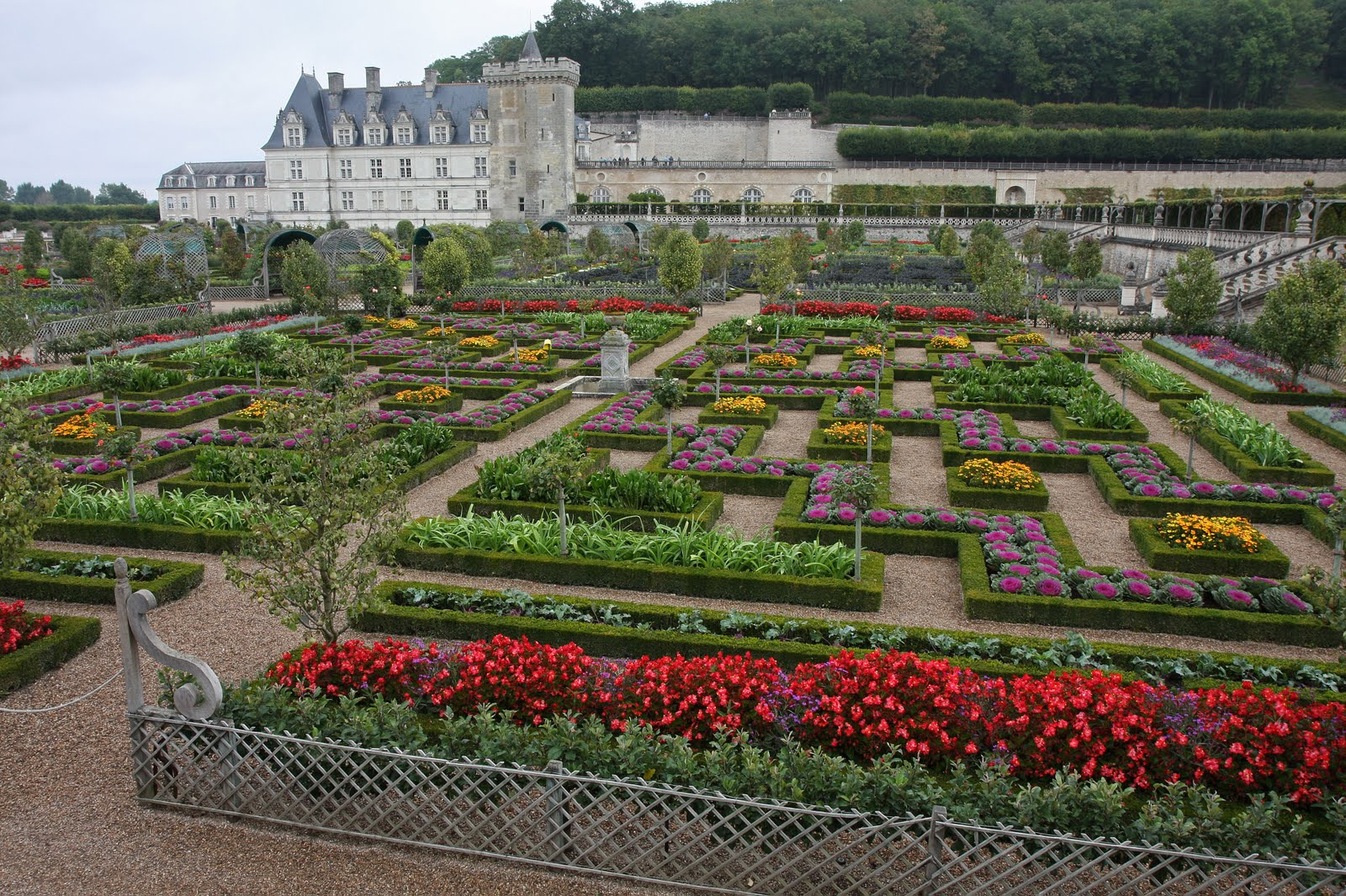 House of boy and girl chateau and jardins de villandry for Jardin villandry