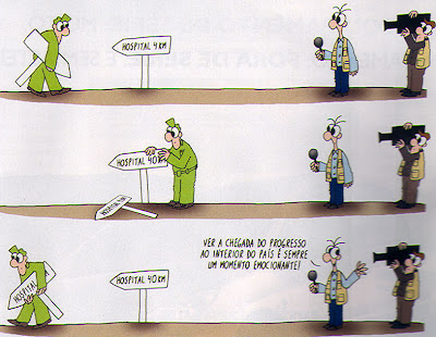 Cartoon de Luis Afonso, Sábado Nº148, 1/3/07
