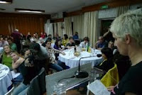Foto de Paulete Matos no site bloco.org