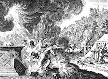 Aaron's Sons, Nadab and Abihu, Destroyed by Fire; Leviticus 10:2