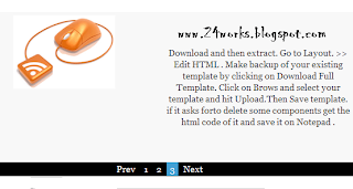 Simple jQuery Featured Content Slider for Blogger Blog