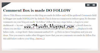 How To Add jQuery Featured Post Slider to blogger