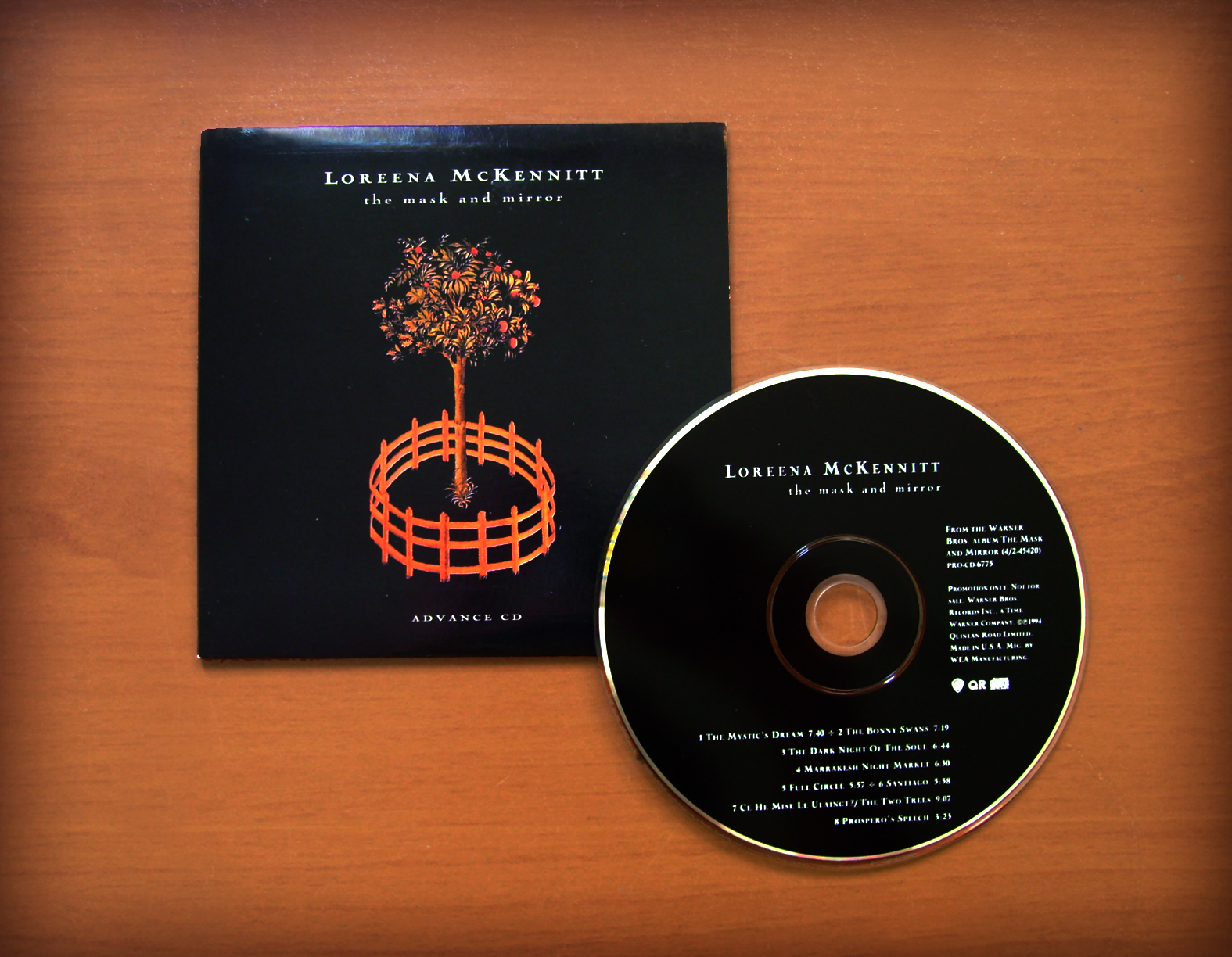 loreena mckennitt collection 1994 the mask and mirror advance cd
