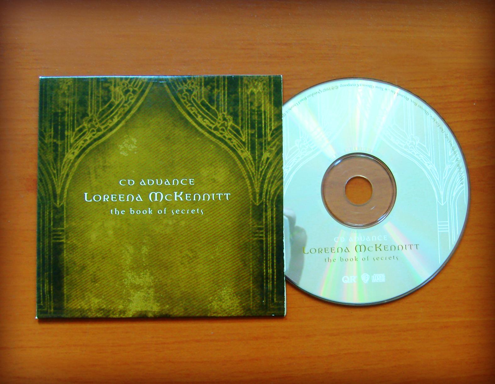 loreena mckennitt collection 1997 the book of secrets cd advance