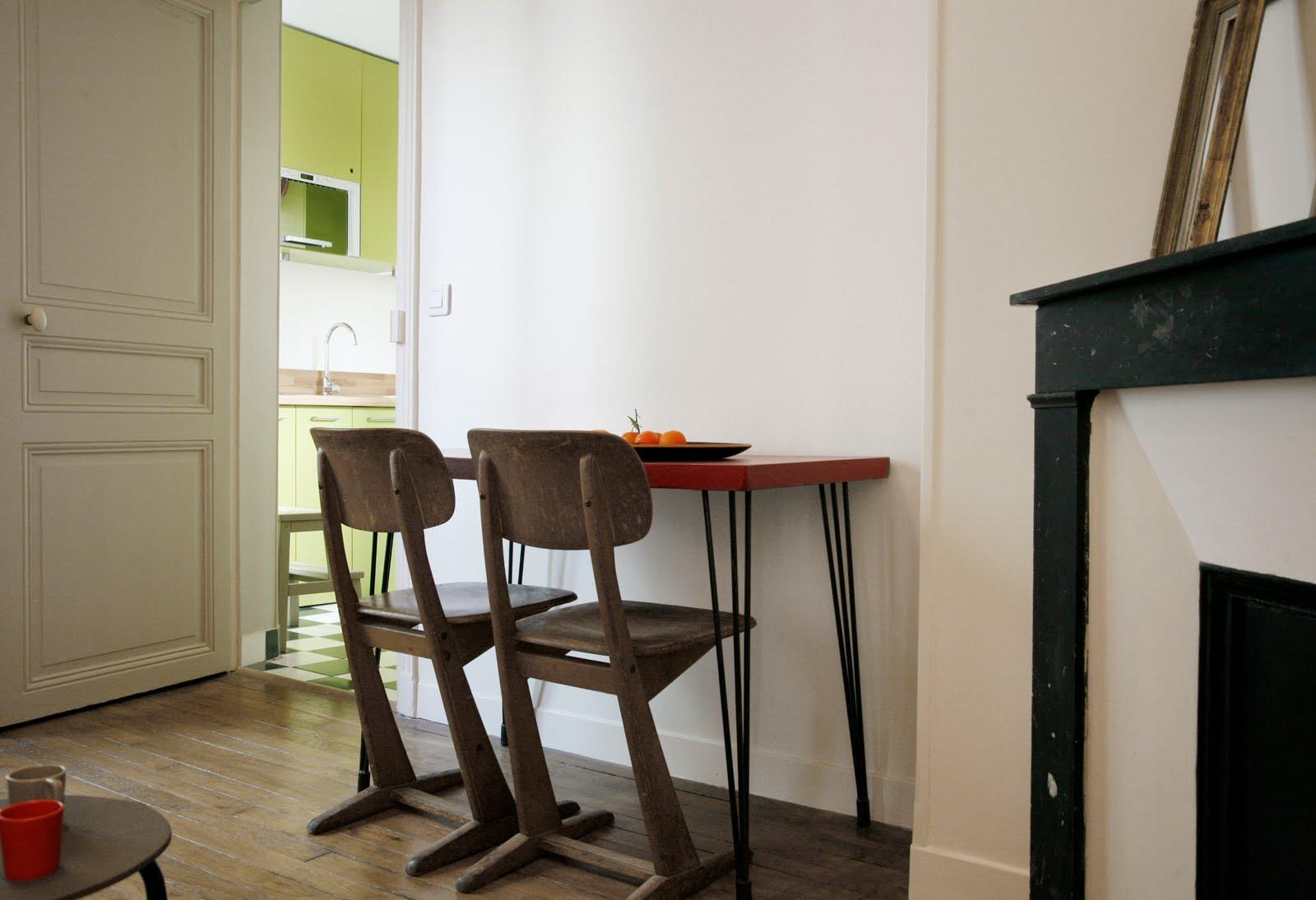 #4D5E1E Karine Herz Home Designer: Rénovation Et Décoration D'un  4185 aménagement pièce à vivre 30m2 1600x1094 px @ aertt.com