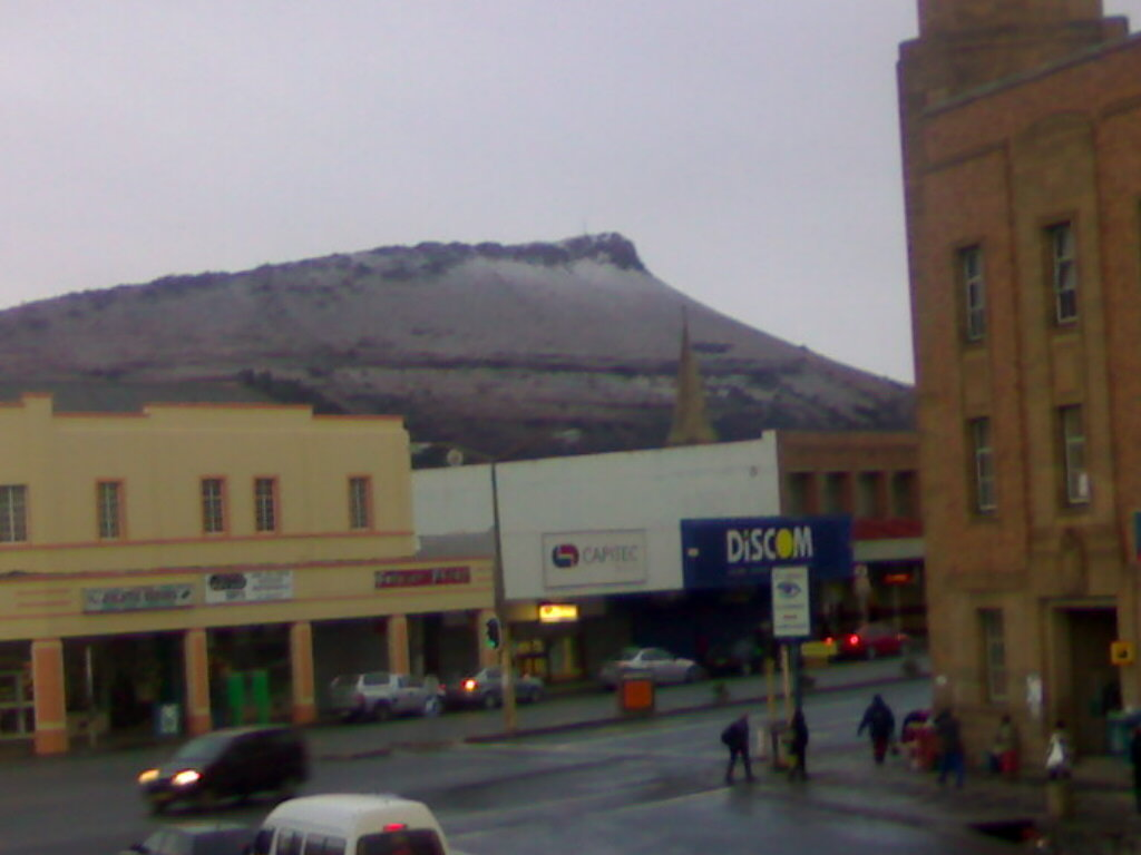 South Africa Snow On The Mount