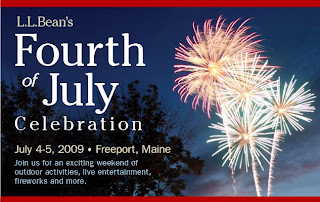 July 4 in Freeport Maine