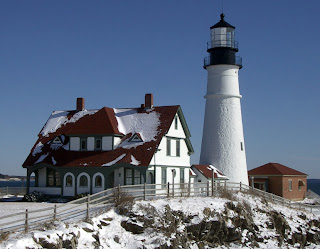 Winter - Portland Head Lighthouse