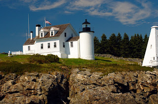 Modern view of Tenants Harbor Light