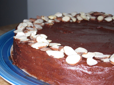 Reine De Saba (Chocolate and Almond Cake)
