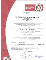 PRAXIS LTDA. Una empresa certificada NCh 2728 e ISO 9001