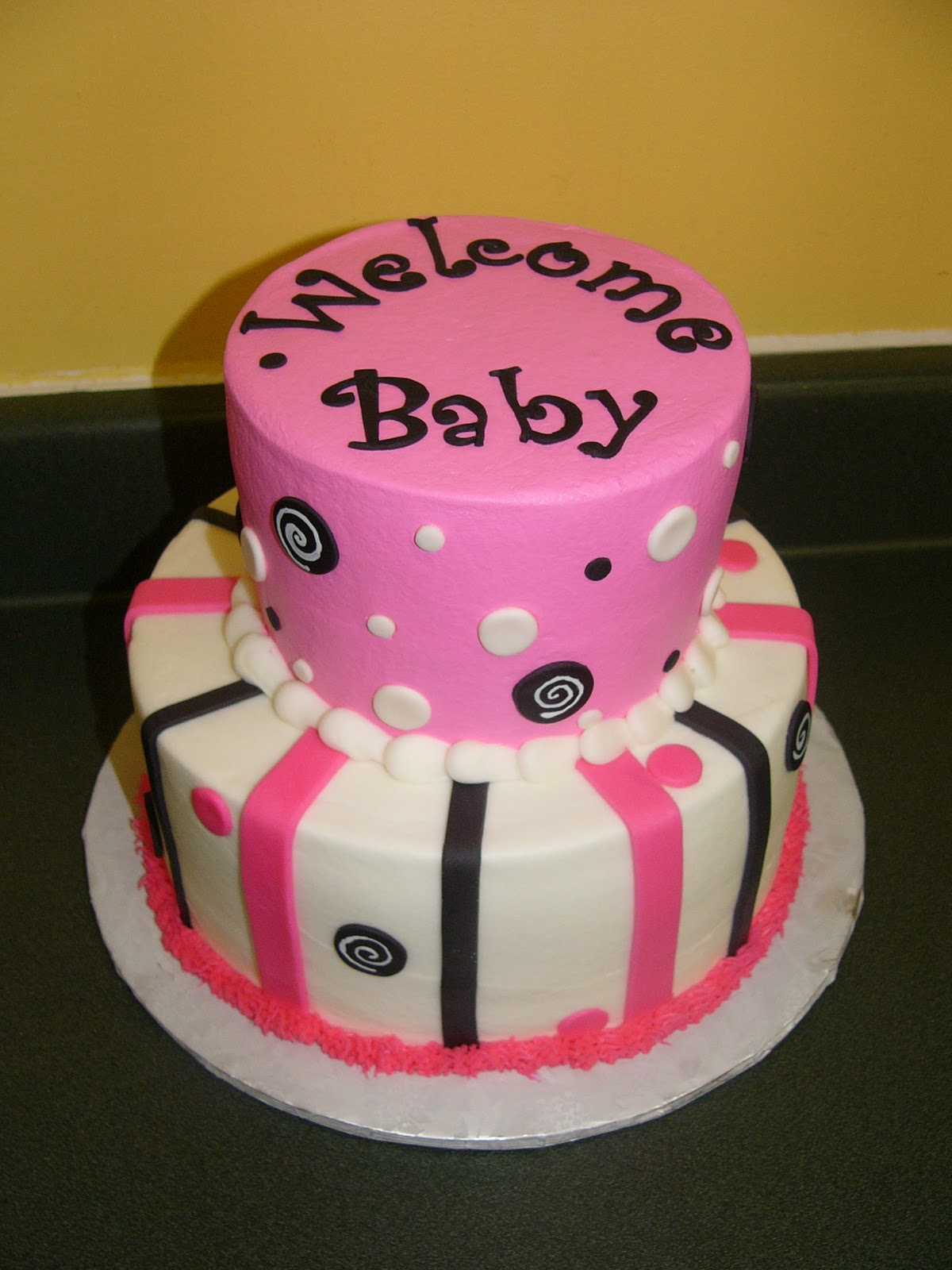 Welcome Baby! Indianapolis Fisher Carmel Baby Shower Cakes