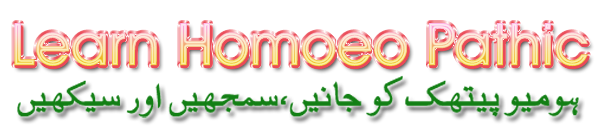 Learn Homoeo Pathic