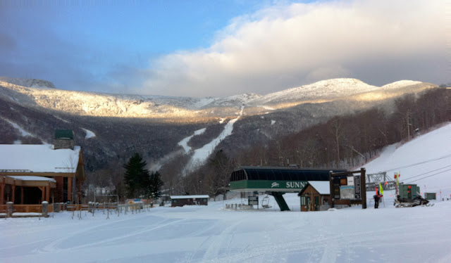 Mt. Mansfield from Spruce Base - 1-27-2011