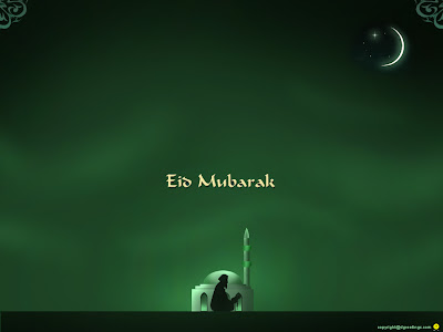 Eid Wallpaper02 1024 Eid Greetings 2009 : 240X320 Wallpaper Collection