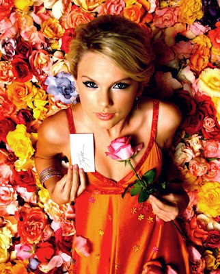 taylor swift flowers