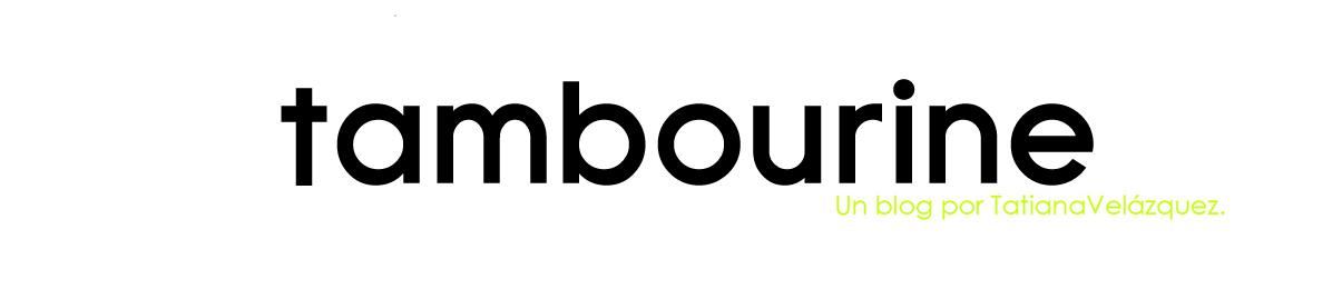 Tambourine.