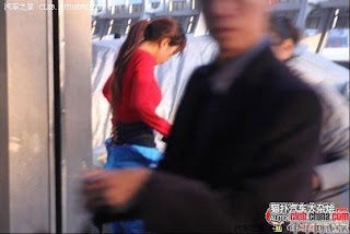 gadis maskot china 04 Gadis Maskot Comel Yang Menyentuh Hati