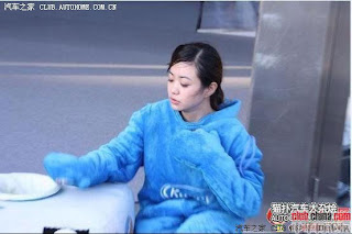 gadis maskot china 02 Gadis Maskot Comel Yang Menyentuh Hati