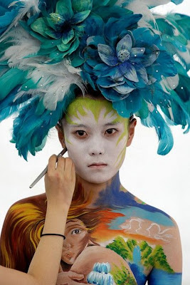 Body Painting Festival in South Korea