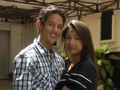 Foto Irfan Bachdim Dengan Jennifer Jasmin Kurniawan