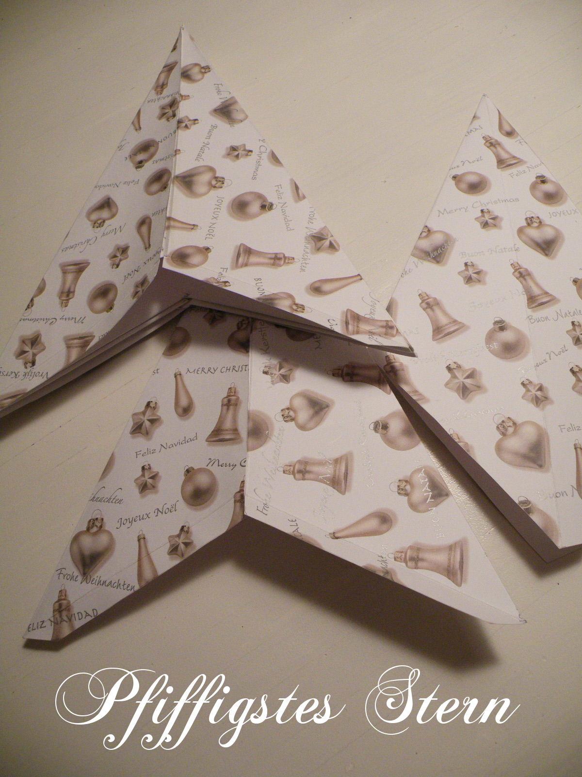 Pfiffigstes h kelblog riesiger stern f rs fenster for Fensterdeko weihnachten basteln papier
