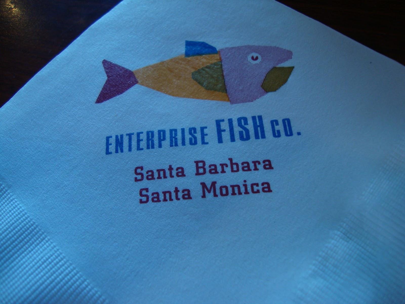An immovable feast enterprise fish co santa barbara for Fish enterprise santa monica