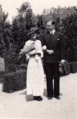 Hans og Grethes bryllupsfoto 6.juni 1936