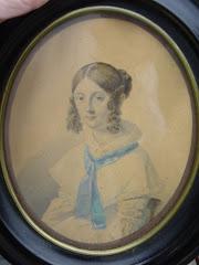 Anne Catharina Christensen som ung