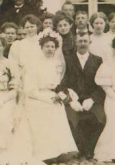 Jens Petersen og Caroline Cecilie Rasmussens bryllup 1885